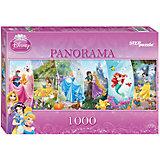 """Панорамный пазл Step Puzzle """"Disney Принцессы"""", 1000 элементов"""