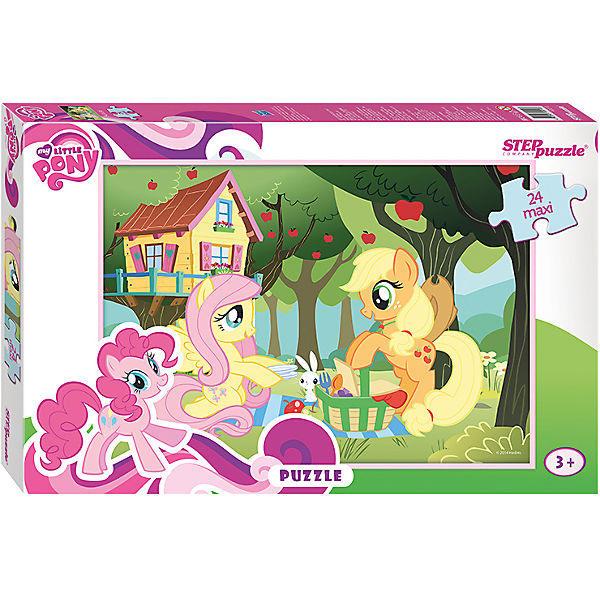"""Пазл Maxi Step Puzzle """"My Little Pony"""", 24 элемента"""