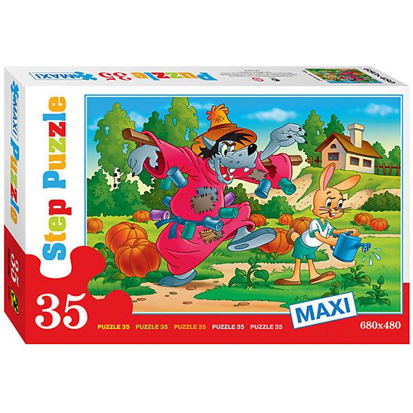 """Пазл Maxi Step Puzzle """"Ну, погоди!"""", 35 элементов"""