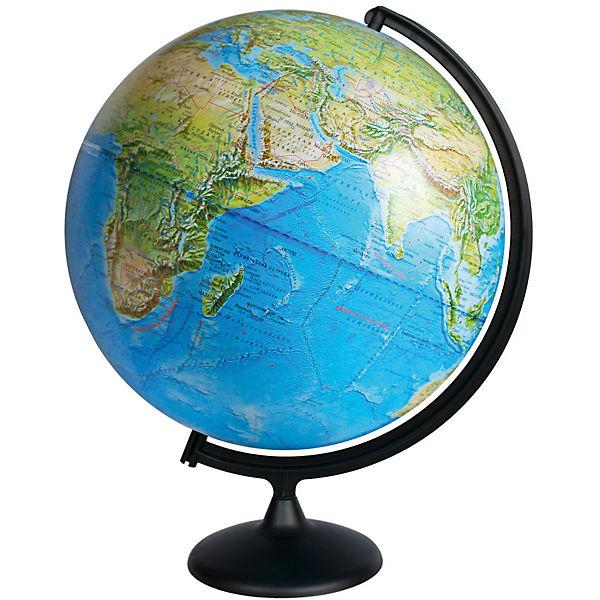 Глобус Земли физический