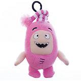 Мягкая игрушка-брелок Oddbods Ньют, 12 см