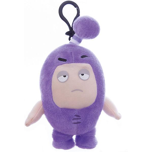 Мягкая игрушка-брелок Oddbods Джефф, 12 см