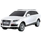 """Радиоуправляемая машинка Rastar """"Audi Q7"""" 1:24, белая"""