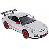 """Радиоуправляемая машинка Rastar """"Porsche GT3 RS"""" 1:14, белая"""