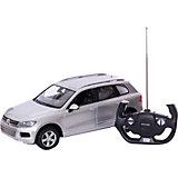 """Радиоуправляемая машинка Rastar """"Volkswagen Touareg"""" 1:14, серебристая"""
