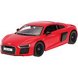 """Радиоуправляемая машинка Rastar """"Audi R8 V10 2015 Version"""" 1:14, красная"""