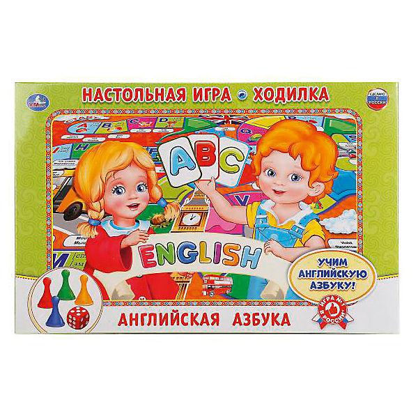 """Настольная игра-ходилка Умка """"Английская азбука"""""""