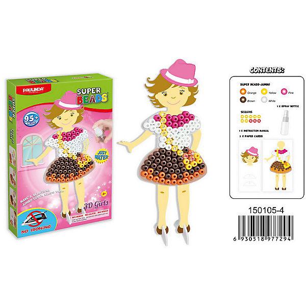 """3D мозаика Paulinda """"Super Beads"""" Сздай свой платье, платье с сумочкой"""