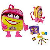 Набор Play doh Рюкзачок для девочки с плюшевыми ручками и ножками