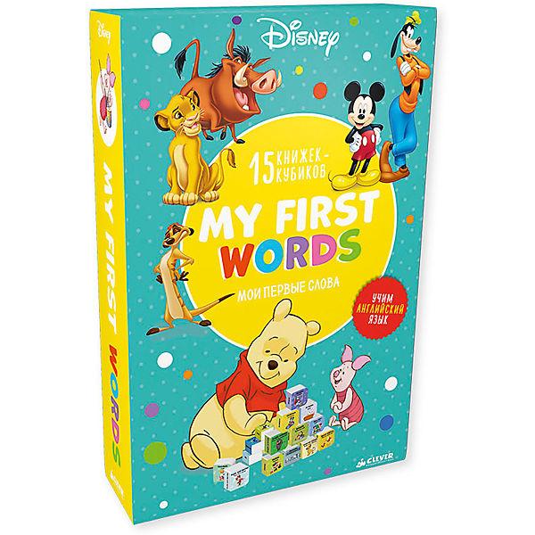 Мои первые слова. My first words. 15 развивающих книжек-кубиков