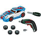 """Игровой набор Klein """"Bosch"""" Тюниг-ателье с машиной и шуруповертом"""