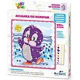 Для Малышей   Мозаика по номерам Пингвинёнок