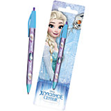 Ручка шариковая автоматическая Disney Frozen + блистер-закладка