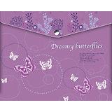 Папка-конверт Limpopo Dreamy Butterflies А4