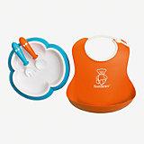 Набор для кормления BabyBjorn, оранжевый/бирюзовый