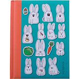 Белые кролики А6, 80 л.