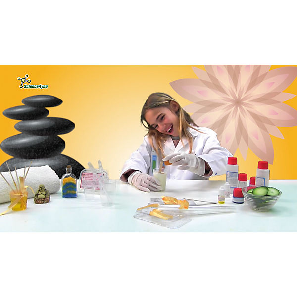 Science4you Набор опытов «Моя лаборатория: SPA-салон»