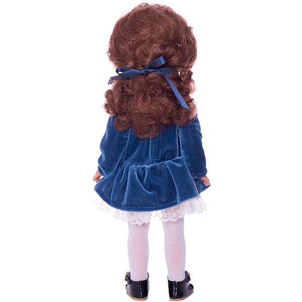 """Классическая кукла Vestida de Azul """"Весна Санкт-Петербург"""" Паулина рыжая кудряшка, 33 см"""