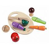 "Игровой набор Classic World ""Нарезаем овощи"", 9 предметов"