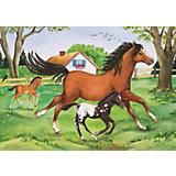 Пазл «Мир лошадей» 2х24шт