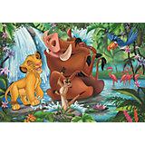 Пазл «Симба с Тимоном и Пумбой» 2х24шт #