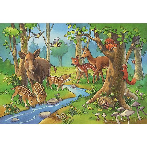 Пазл «Лесные жители»  2х24шт