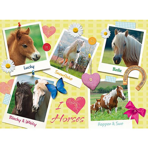 Пазл «Мои любимые лошади» XXL 300 шт
