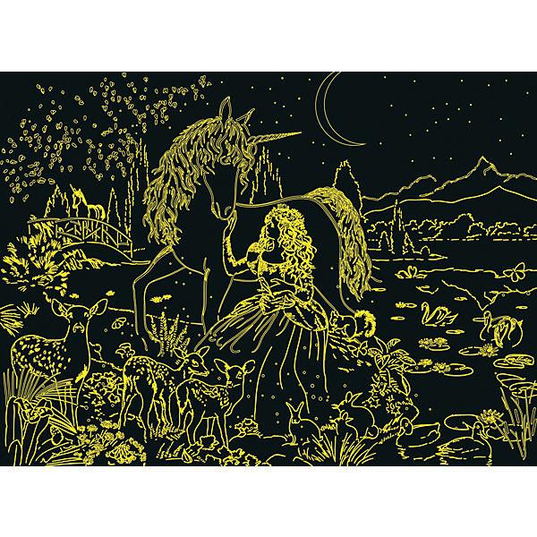 Пазл светящийся «Сказочная красота» XXL 200 шт