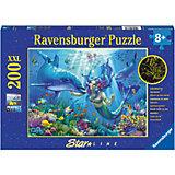 Пазл светящийся «Подводный рай» XXL 200 шт