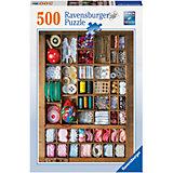 Пазл «Шкатулка для рукоделия» 500 шт