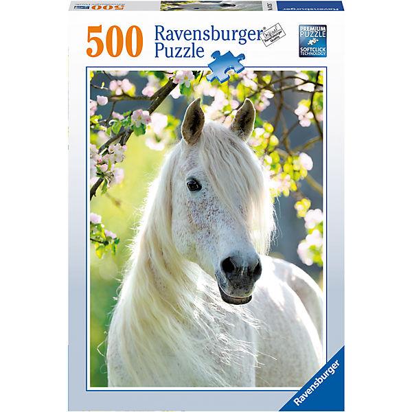Пазл «Грациозная белая лошадь» 500 шт
