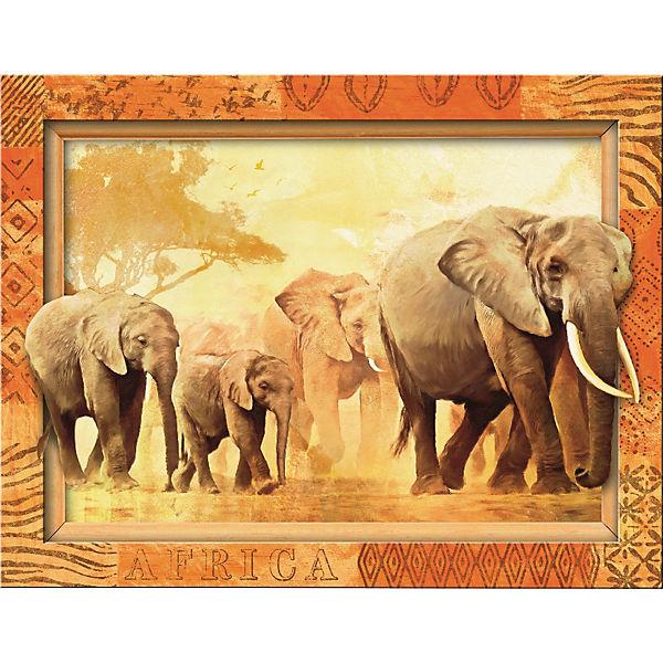 Пазл «Слоны» 500 шт