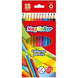 "Цветные карандаши MagTaller ""Kuvio"", 12 цветов"