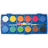 "Акварельные краски MagTaller ""Akvarelli"", 12 цветов"