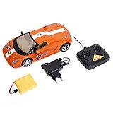 Радиоуправляемая машинка Mioshi 24 см, оранжево-белый