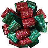 Подарочный двуцветный голографический бантRegalissimi
