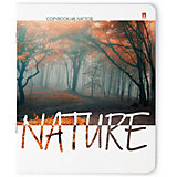 """Тетрадь """"Природа. Настроение"""" 48 листов, клетка, 5 шт., рисунок в ассортименте"""