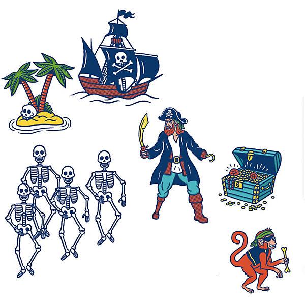Набор штампов Пираты, Djeco