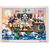 """Пазл Melissa & Doug """"Приключения пиратов"""" 48 деталей"""