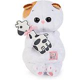 Мягкая игрушка Budi Basa Кошка Ли-ли Baby с жирафиком, 20см