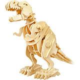 Деревянный конструктор Тираннозавр, звуковой контроль для движения