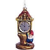 Елочное украшение часы леса Magic Story