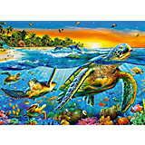 Пазл Морские черепахи, 180 деталей, Castorland
