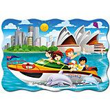Пазл Яхта в Сиднее, 20 деталей MAXI Castorland