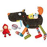 "Развивающая игрушка ""Волк-обжора"", 37 см Ebulobo"