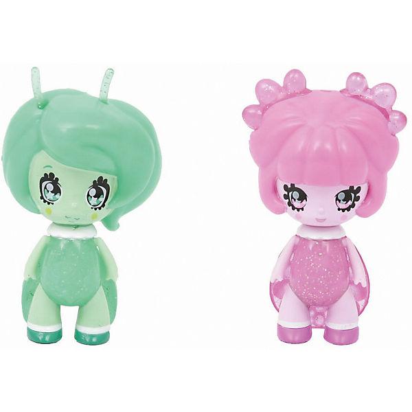 Две куклы Glimmies Nova и Spinosita