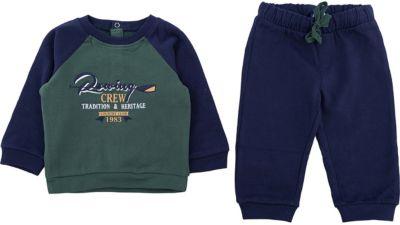 Комплект:толстовка и брюки Original Marines для мальчика - зеленый