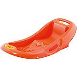 Санки детские Снеголёт Н, оранжевые