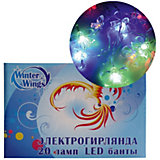 Гирлянда электрическая LED БАНТЫ Winter Wings