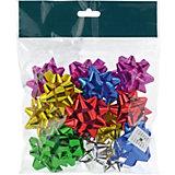 Набор бантиков для подарочной упаковки, ПВХ